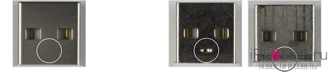 По USB-штекеру 3