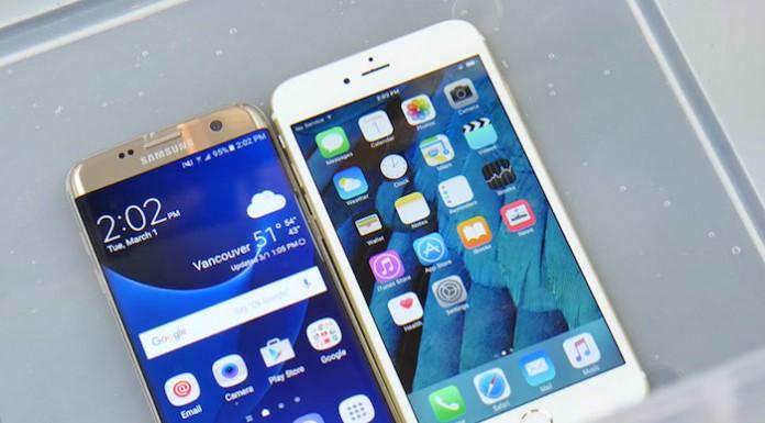 iPhone 6s против Samsung Galaxy S7: тесты на водопроницаемость и сгибаемость