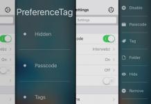 Твик PreferenceTag3 для iOS 9: настройка пунктов в «Настройках»
