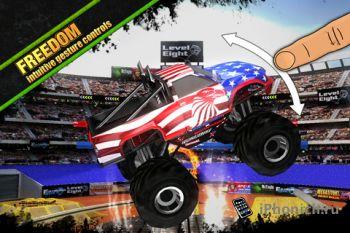 MEGASTUNT™ Mayhem Pro - лучшая игра Monster Truck для iOS