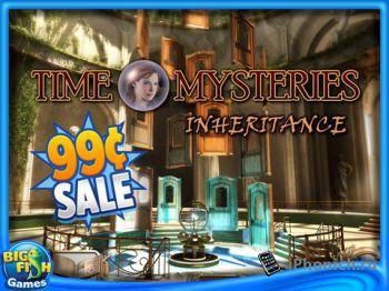 Игра для iPad Time Mysteries: Inheritance HD