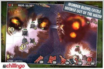 iBomber Defense на iPhone (iPad)