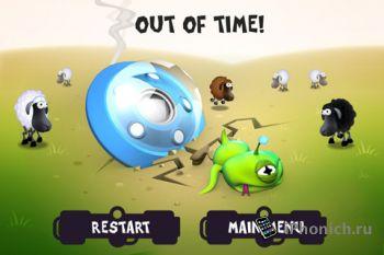 Игра для iPhone (iPad) Sheep Abduction