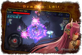 Игра для iPhone DragonLair