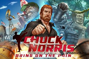 Игра для iPhone Chuck Norris: Bring on the Pain!