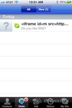 Взлом iOS через Skype