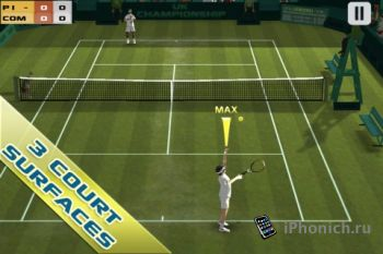 Cross Court Tennis -3D игра в тенис