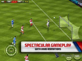 FIFA 12 by EA SPORTS - лучший футбол для iPhone / iPad