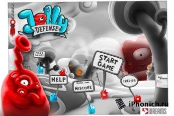 Jelly Defense - Наконец-то есть кого защищать!