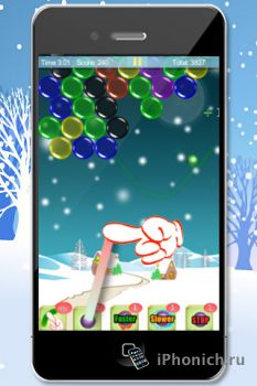 Magic Finger: Christmas Bubble для iPhone