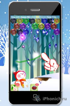 Magic Finger: Christmas Bubble для iPhone