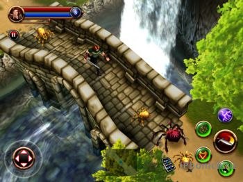 Dungeon Hunter HD на iPad