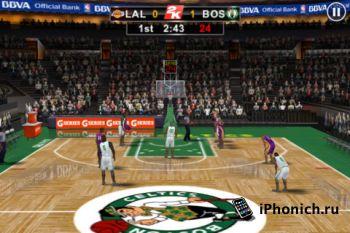 NBA 2K12 для iPhone (+iPad)