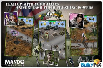 Игра для iPhone Hills of Glory: WWII Premium (+ HD iPad)