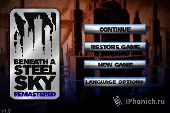 Игра на iPhone Beneath a Steel Sky: Remastered