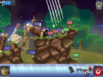 Worms HD для iPad