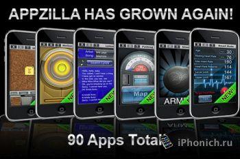 90 in 1 : APPZILLA! - полезные приложения для iPhone