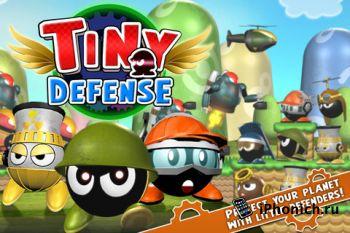 Tiny Defense - Tower Defence с красивым оформлением.