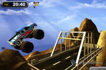 Игра на iPhone Monster Trucks Nitro 2
