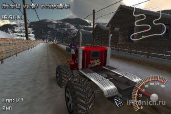 Игра на iPhone MonsterTruck Rally