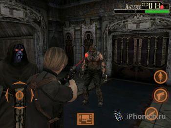 Resident Evil 4 на iPad