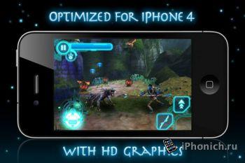Игра на iPhone James Camerons Avatar