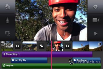 iMovie для iPad / iPhone в .ipa формате