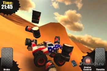 Игра на iPhone Monster Trucks Nitro