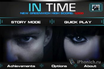 IN TIME – The Game для iPhome/iPad