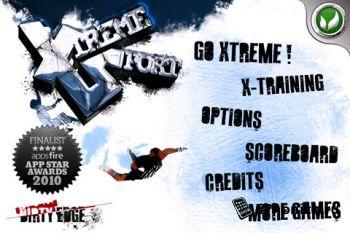 Игра на iPhone Xtreme Sports: Biker
