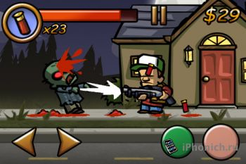 Игра Zombieville USA iPhone/iPad