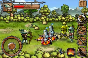 Robin Hood: Sherwood Legend для iPhone / iPod Touch