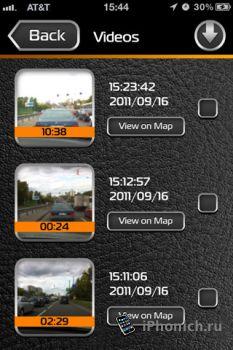 Road Witness – видеорегистратор на iPhone