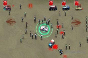 Zombie Racers на iPhone