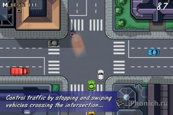 Игра для iPhone/iPad Traffic Rush