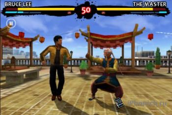 Bruce Lee Dragon Warrior на iPhone