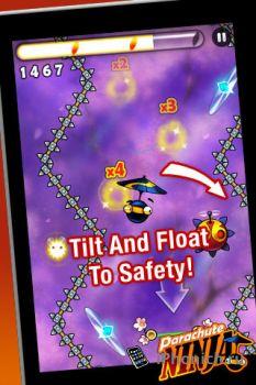 Parachute Ninja на iPhone