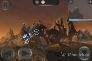 Игра на iPhone Unreal Trial