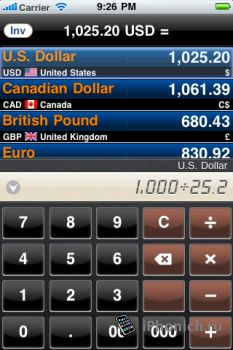 Currency Converter Pro iPhone