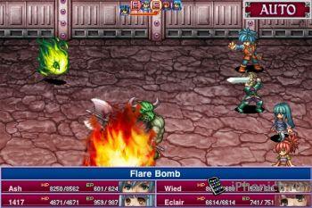 RPG Alphadia для iPhone