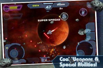 Asteroids GUNNER для iPhone