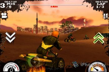 Dirt Moto Racing для iPhone