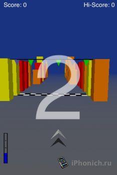 Игра для iPhone Cube Runner II