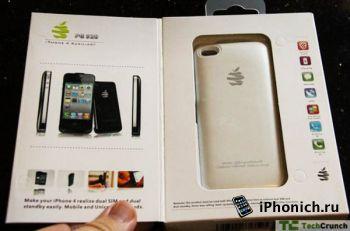 Vooma Peel PG92 дает возможность iPhone 4/4S работать на двух SIM-картах