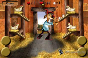 Crazy Eggs игра для iPhone