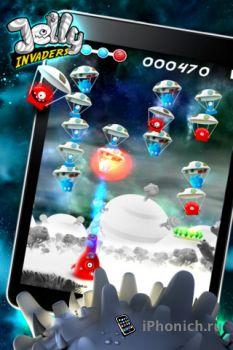 Игра на iPhone/iPad Jelly Invaders