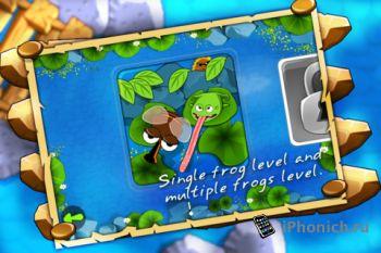 Frogs Vs. Pests для iPhone