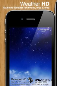 Weather HD для iPad и iPhone