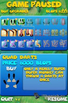 Bloons Super Monkey на iPhone