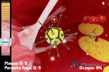 Dr. Nano- 3D Artery Adventure на iPhone